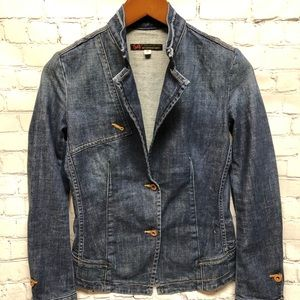 AG Adriano Goldschmied Denim Jacket The Alice